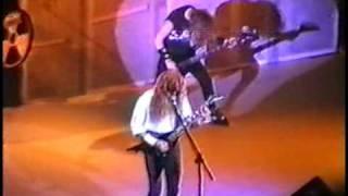 Megadeth - Set The World Afire (Live In London 1991)
