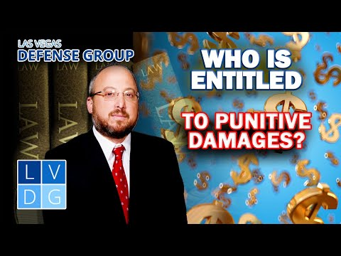 """Who can be awarded """"punitive damages"""" in Nevada?"""