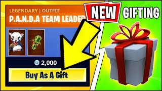* NEU * Fortnite v6.31 GIFTING SYSTEM ENABLED!! WIE ZU GIFT SKINS & EMOTES IN Fortnite