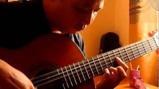 Lời ru trên nương - Lê Hùng Phong - Guitar solo