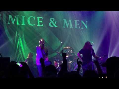 Of Mice & Men – Away, 1.10.16, Manchester Apollo