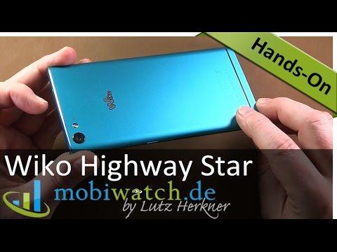 Wiko Highway Star: Der edle Alu-Flachmann im Video-Test – deutsch