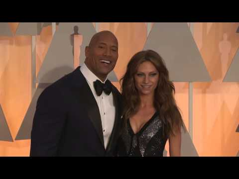 Oscars: Dwayne 'The Rock' Johnson Red Carpet Fashion (2015)