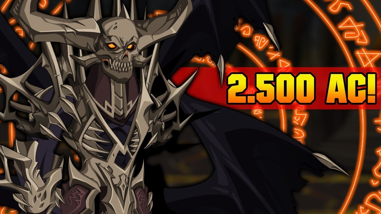 =AQW= CURSED OVERLORD SET (2 500 AC!? REALLY!?) | AQWorlds 2019