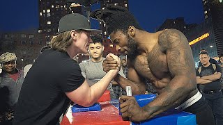 Arm Wrestling at Union Square NYC 2019 PART 2
