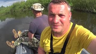 Рыбалка в Беларуси Река Нёман в Кареличском районе Рыбалка в начале июня 2021г на реке Нёман
