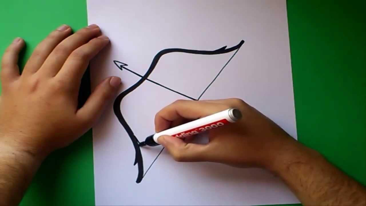 Como dibujar un arco | How to draw a arc - YouTube