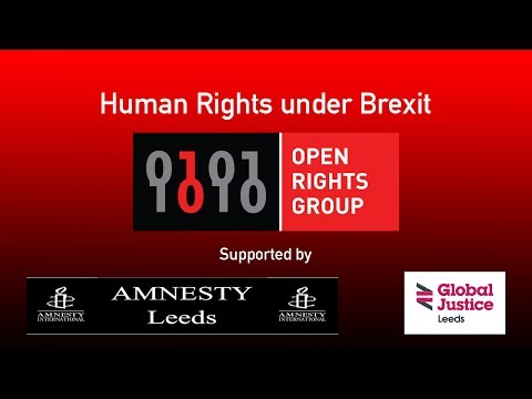 Human Rights under Brexit - Quiz Your MP -  Leeds Open Rights Group