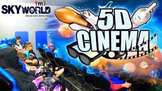Nonton Cinema 5D di SKYWORLD Planetarium TMII (Full Movie)
