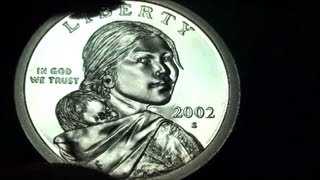 ULTIMATE DOLLAR COIN ROLL HUNTING FIND, 2002-S SACAGAWEA PROOF COIN
