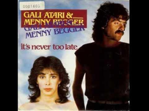 גלי עטרי ומני בגר - דואט פרידה באנגלית Gali Atari & Menny Begger - It's Never Too Late