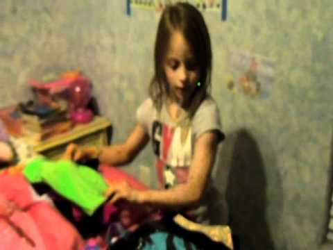 7 year old Kyrie showing her Leotards - YouTube