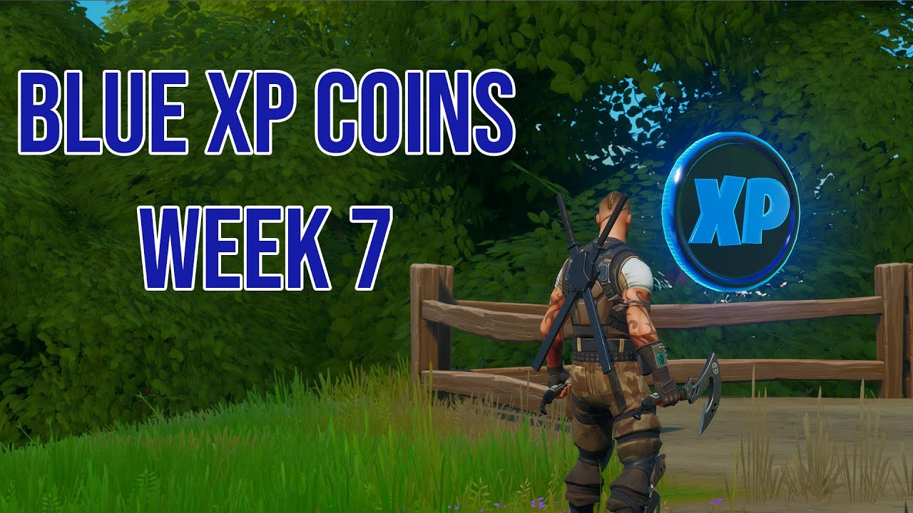 All Xp Coins In Fortnite Season 7 Chapter 2 Fortnite Week 7 Xp Coins All Purple Green And Blue Coin Locations In Chapter 2 Season 3