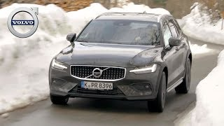 2019 Volvo V60 Cross Country | Pine Grey | Driving, Interior, Exterior (D4 AWD)