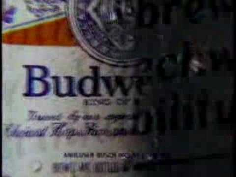 Budweiser commercial: King of Beers (1986)