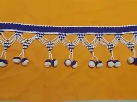 Woolen Toran Design/ Moti Wala Woolen Toran Design