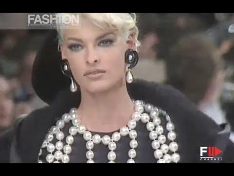 CHANEL Fall 1991/1992 Paris - Fashion Channel