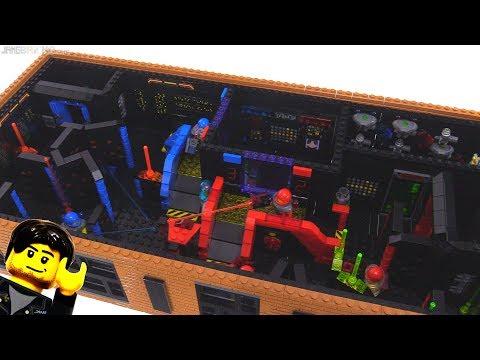 LEGO laser tag arena MOC progress 9
