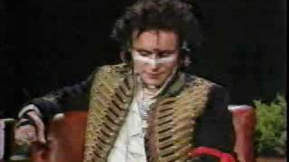 Adam and The Ants on Tom Snyder - Ant Music and interview with Adam