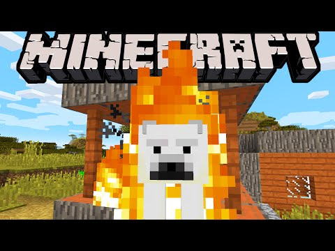 Minecraft 1.10 Snapshot: Pre-Release?! Faster Future Updates, Burning Polar Bear Dive, Village Fixes