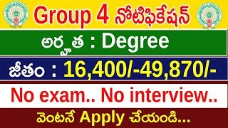 Group 4 Backlog Notification 2018 | Latest Backlog Recruitment 2018 | Government Jobs | Omfutr Tech