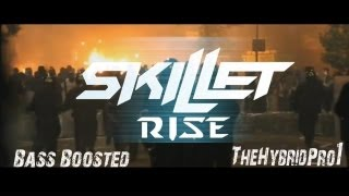 Skillet - Rise Music Video [HD] [BASS BOOSTED]