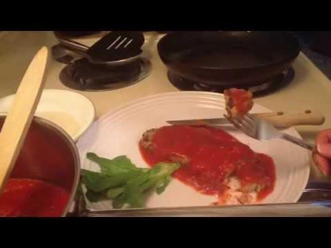 Not-Chicken Parmigiana Vegan!