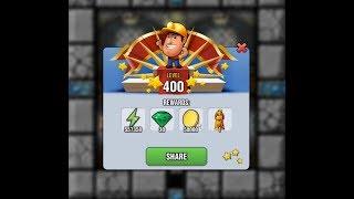 Reaching LEVEL 400 in Diggy's Adventure + Reward Item Showcase