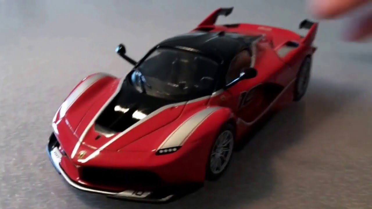 Ferrari GT Collection: FXX K 1:43 Review - YouTube