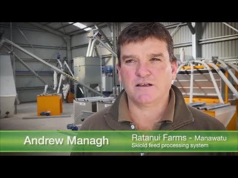 Ratanui Farm story about their new feed mill solution from Skiold.