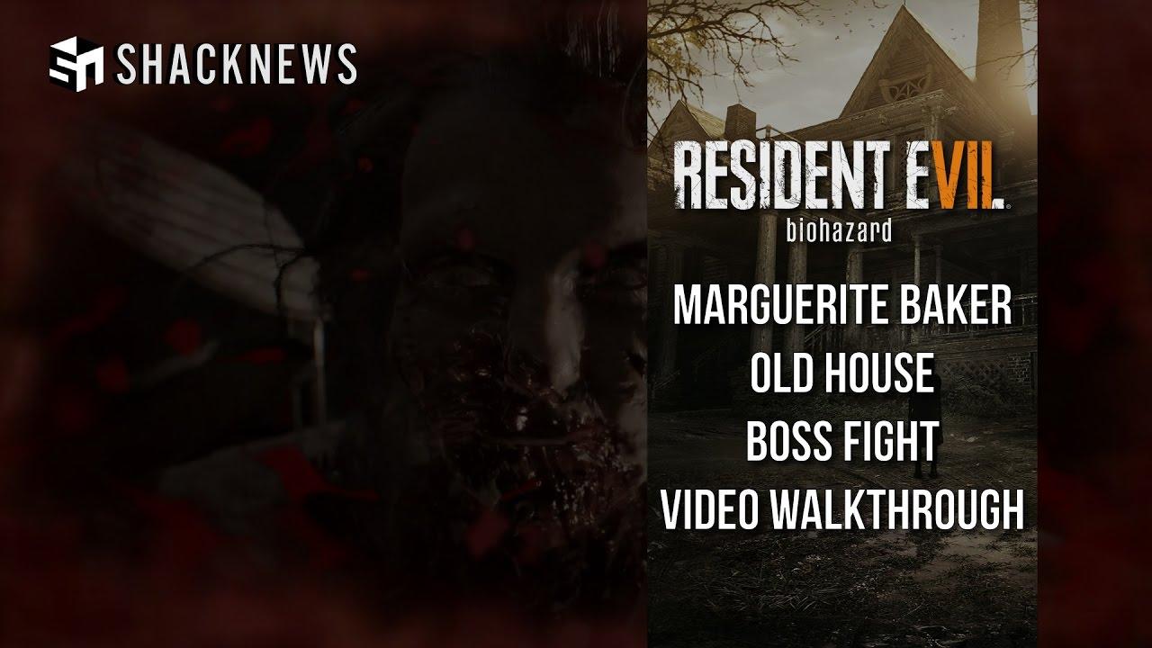 Resident Evil 7 Boss Fight How To Beat Marguerite Baker Shacknews
