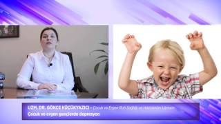 Uzm. Dr. Gökçe Küçükyazıcı - Çocuk ve Ergen Gençlerde Depresyon