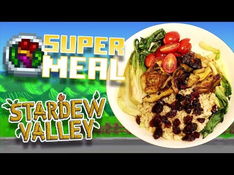 How to Make a Super Meal from Stardew Valley