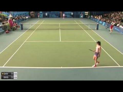 Davis L. (Usa) (72) - Dodin O. (Fra) (83) Highlights (ITF WOMEN: Poitiers (France) - 30.10