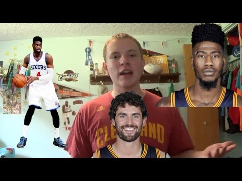 Cavaliers trade Kevin Love or Iman Shumpert to the 76ers for Nerlens Noel   Rumor