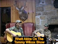 "Rhett Akins on Tommy Wilcox Show - ""Kiss My Country Ass"""