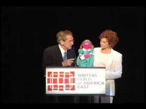 "Sesame Street sings ""One of These Things"" at the Writers Guild Awards"
