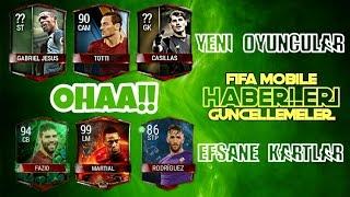 Efsane yenİ gÜncelleme!! + etkİ oyunculari kaÇ artti? (fifa mobile haberleri #2)