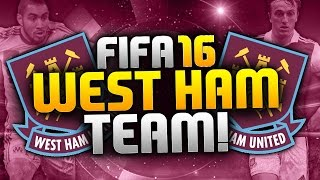 Fifa 16 West Ham Team - Potential Lineup