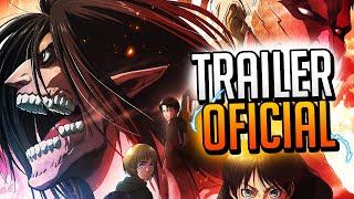 Shingeki No Kyojin Temporada 4 Trailer Oficial + Nueva Pelicula | Noticias