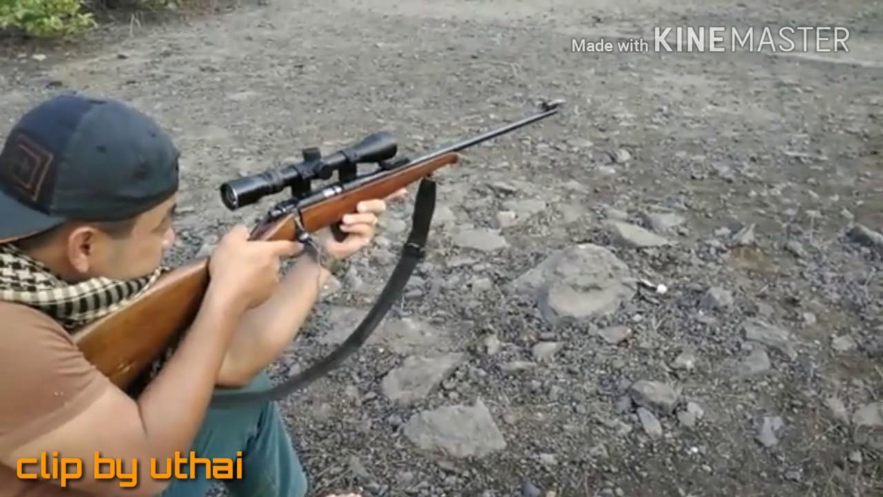 CZ 452 .22lr  ปืนลูกกรดที่ดีสุดในโลก ระยะ50 แม่นสุดๆๆ
