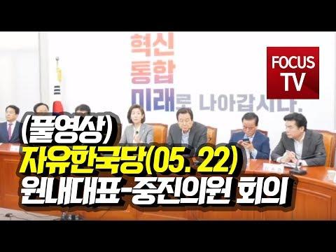 자유한국당, 원내대표-중진의원 회의 풀영상   [5월 22일]