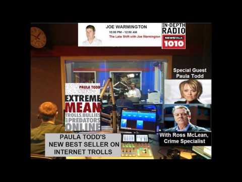 JOE WARMINGTON and Ross Mclean   Author PAULA TODD INTERVIEW   EXTREME MEAN on Newstalk 1010