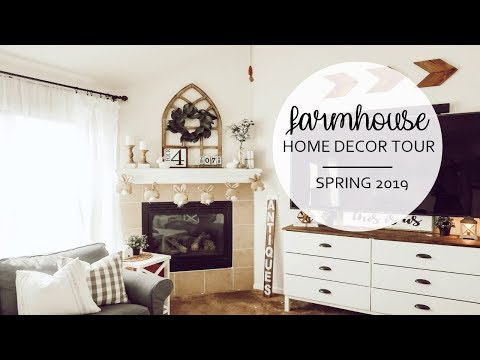 SPRING HOME DECOR TOUR 2019 | FARMHOUSE STYLE | ROOM UPDATES