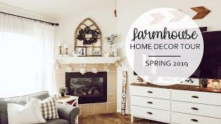 Spring Home Decor Tour 2019   Farmhouse Style   Room Updates