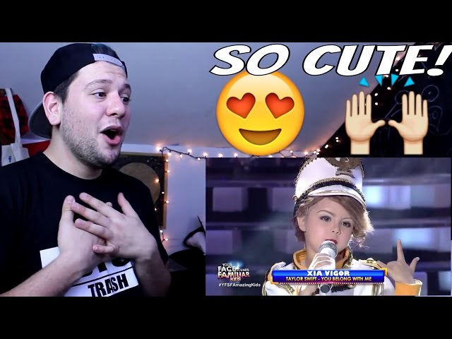 Your Face Sounds Familiar Kids: Xia Vigor as Taylor Swift - You Belong With Me | Reaction