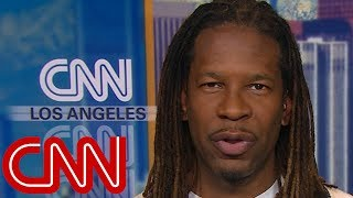 LZ Granderson's message for Smollett is on his t-shirt