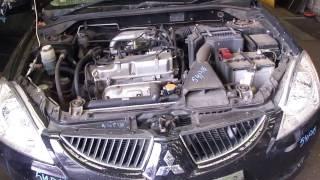 Авторазбор Двигатель Mitsubishi Lancer 9 2005 1.6 4G18