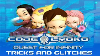 Code Lyoko: Quest for Infinity (Wii): Tricks and Glitches