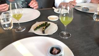 Noma Course #8: Cumber With Ants And Scallop Fudge